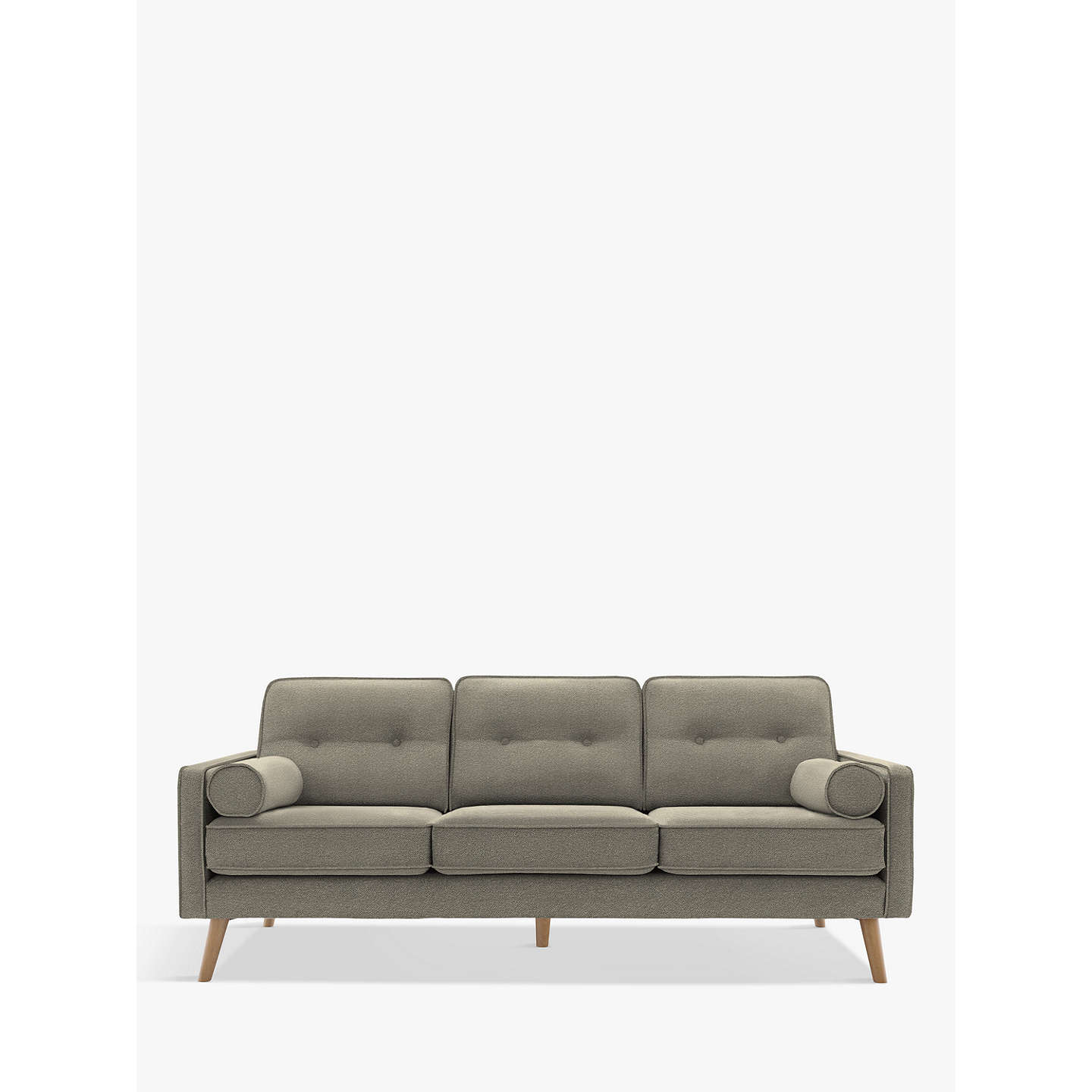 BuyG Plan Vintage The Sixty Five Large 3 Seater Sofa, Bobble Ash Online at johnlewis.com