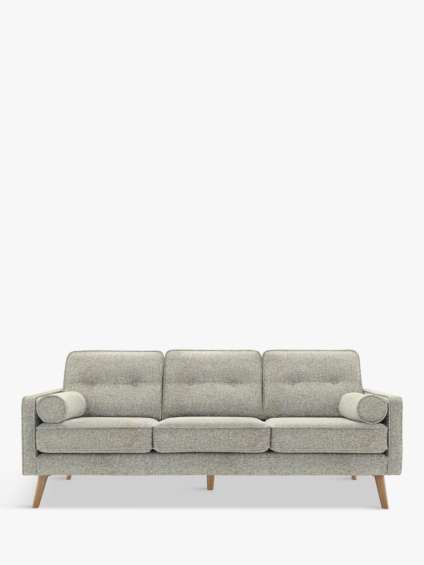 G Plan Vintage The Sixty Five Large 3 Seater Sofa Etch Granite