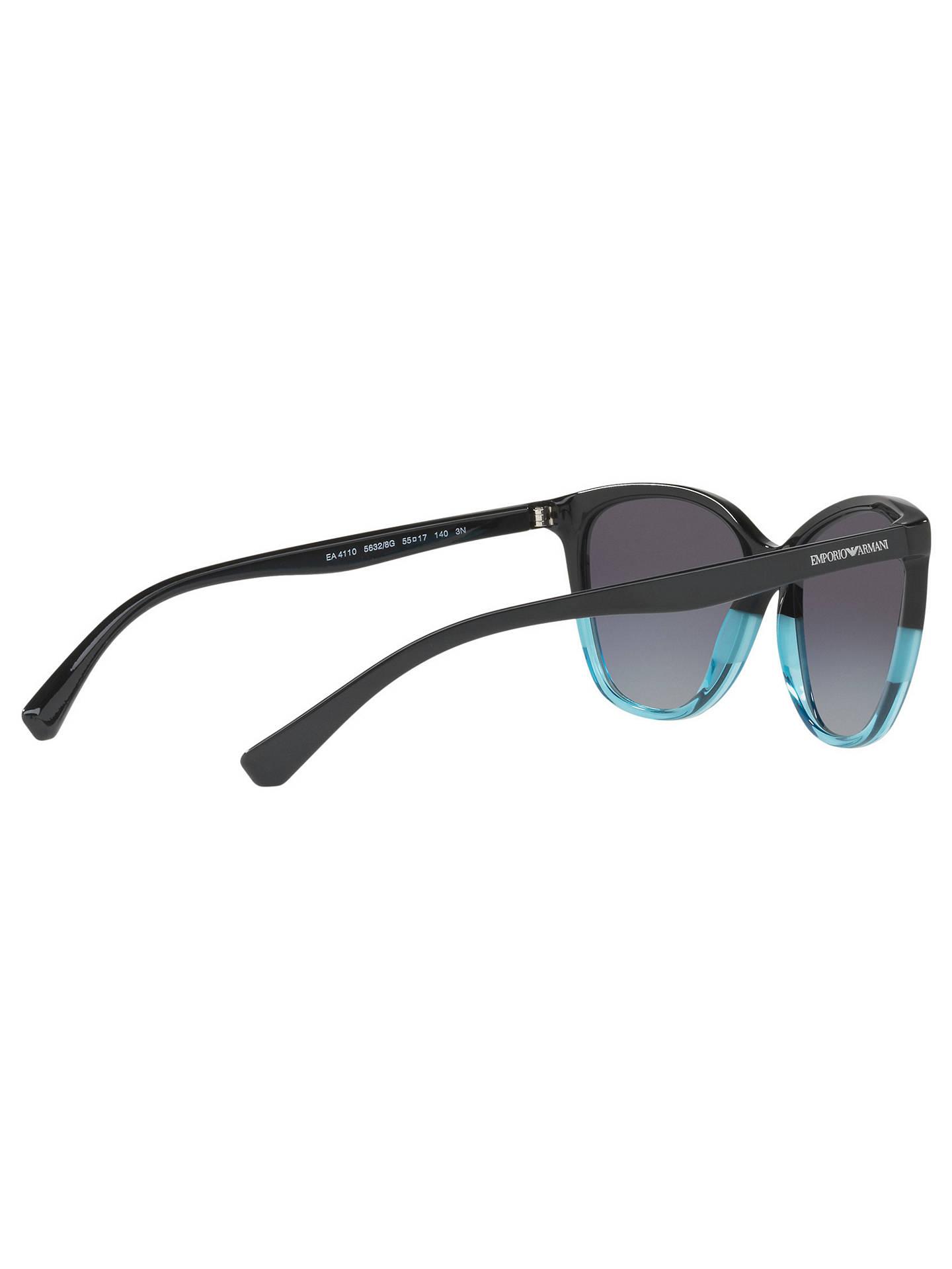 e30929b17979 Emporio Armani EA4110 Cat s Eye Sunglasses at John Lewis   Partners