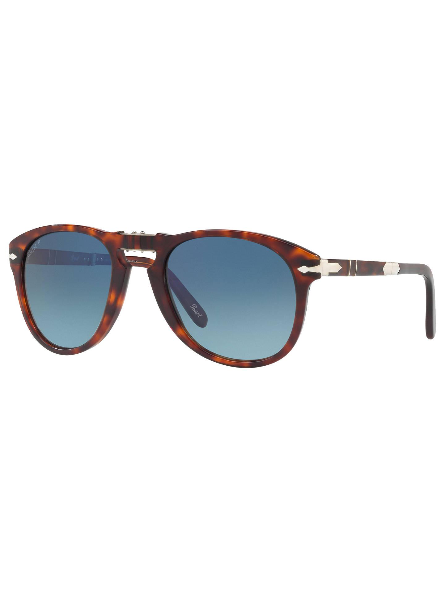 5dea8545b9 Persol PO0714SM Steve McQueen Folding Polarised Aviator Sunglasses ...