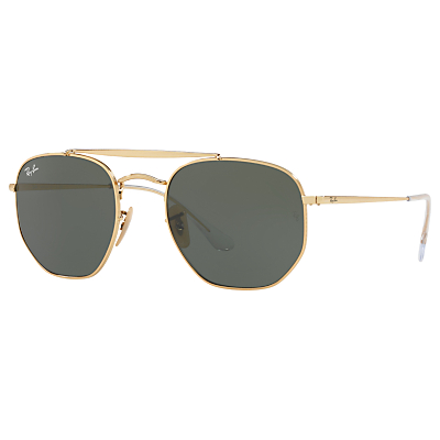 Product photo of Rayban rb3648 square sunglasses gold green