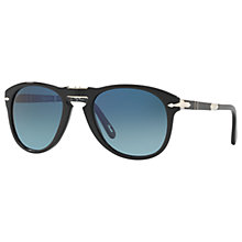 Buy Persol PO0714SM Steve McQueen Folding Polarised Aviator Sunglasses Online at johnlewis.com