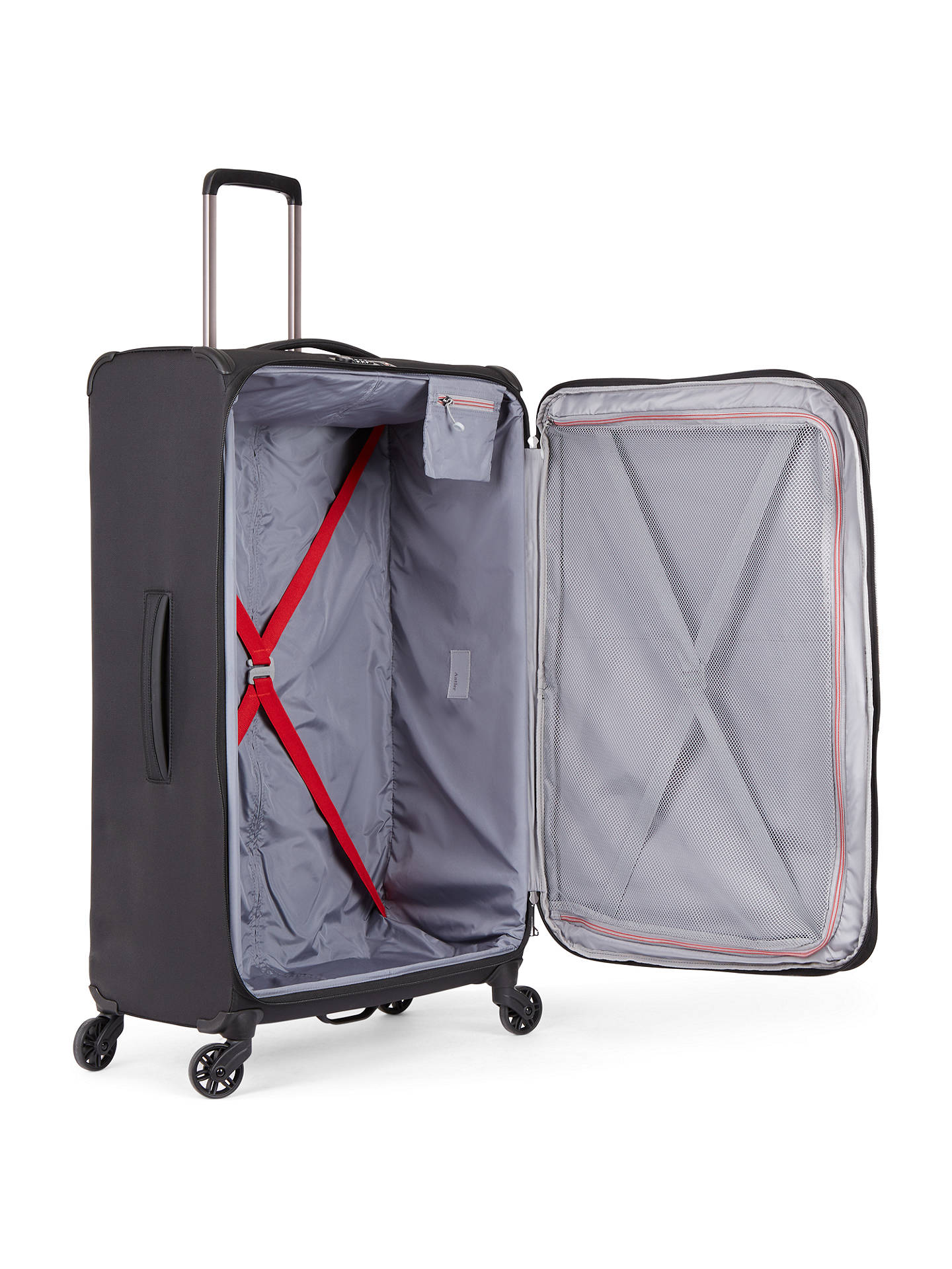 e7ae46284a89 Antler Atmosphere 82cm 4-Wheel Large Suitcase at John Lewis   Partners