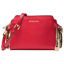 Buy MICHAEL Michael Kors Bristol Leather Shoulder Bag Online at johnlewis.com