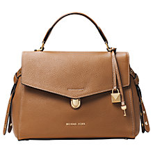 Buy MICHAEL Michael Kors Bristol Medium Leather Satchel Bag Online at johnlewis.com