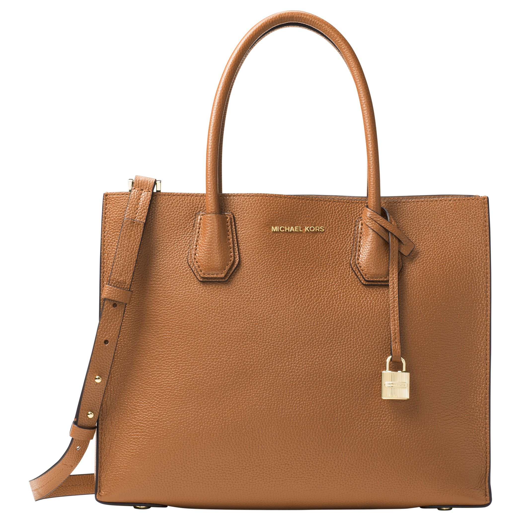 751966c88894 MICHAEL Michael Kors Mercer Large Leather Tote Bag at John Lewis ...