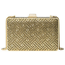 Buy MICHAEL Michael Kors Pearl Medium Box Clutch Online at johnlewis.com