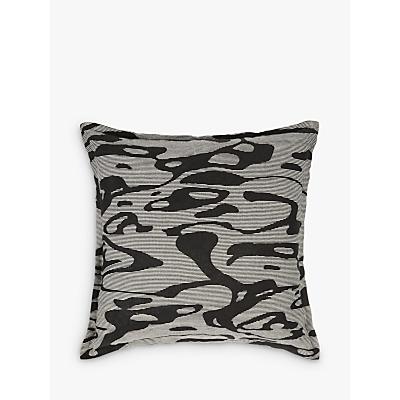 PATTERNITY + John Lewis Flow Cushion, Black