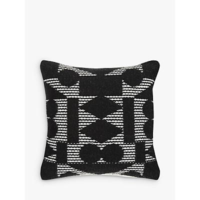 PATTERNITY + John Lewis Reflect Cushion, Black