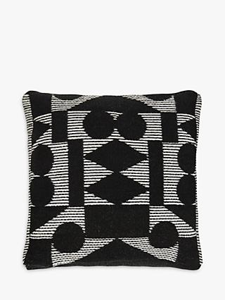 PATTERNITY + John Lewis Reflect Floor Cushion, Black