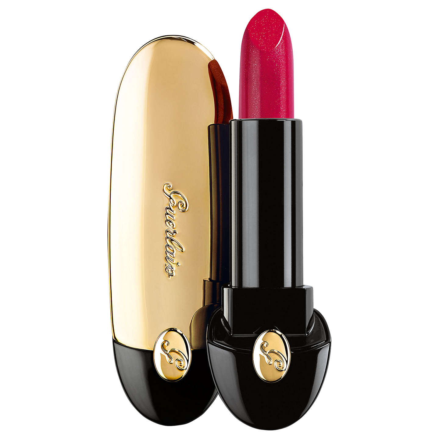 BuyGuerlain Limited Edition Rouge G Lipstick, 822 Glamorous Cherry Online at johnlewis.com