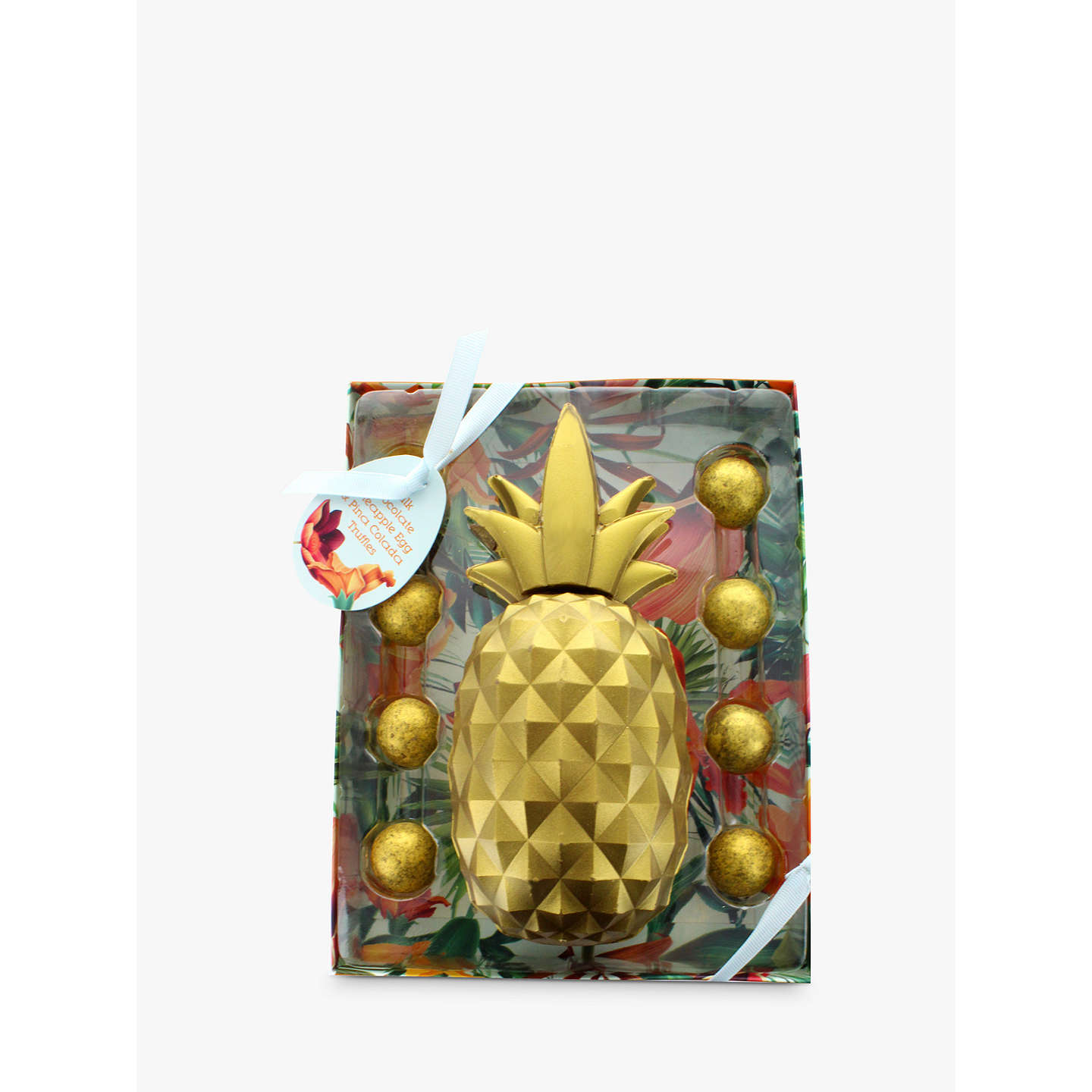 Artisan du chocolat pineapple easter egg 200g at john lewis buyartisan du chocolat pineapple easter egg 200g online at johnlewis negle Images
