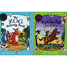 Buy The Zog And The Highway Rat Activity Book, Pack of 2 Online at johnlewis.com