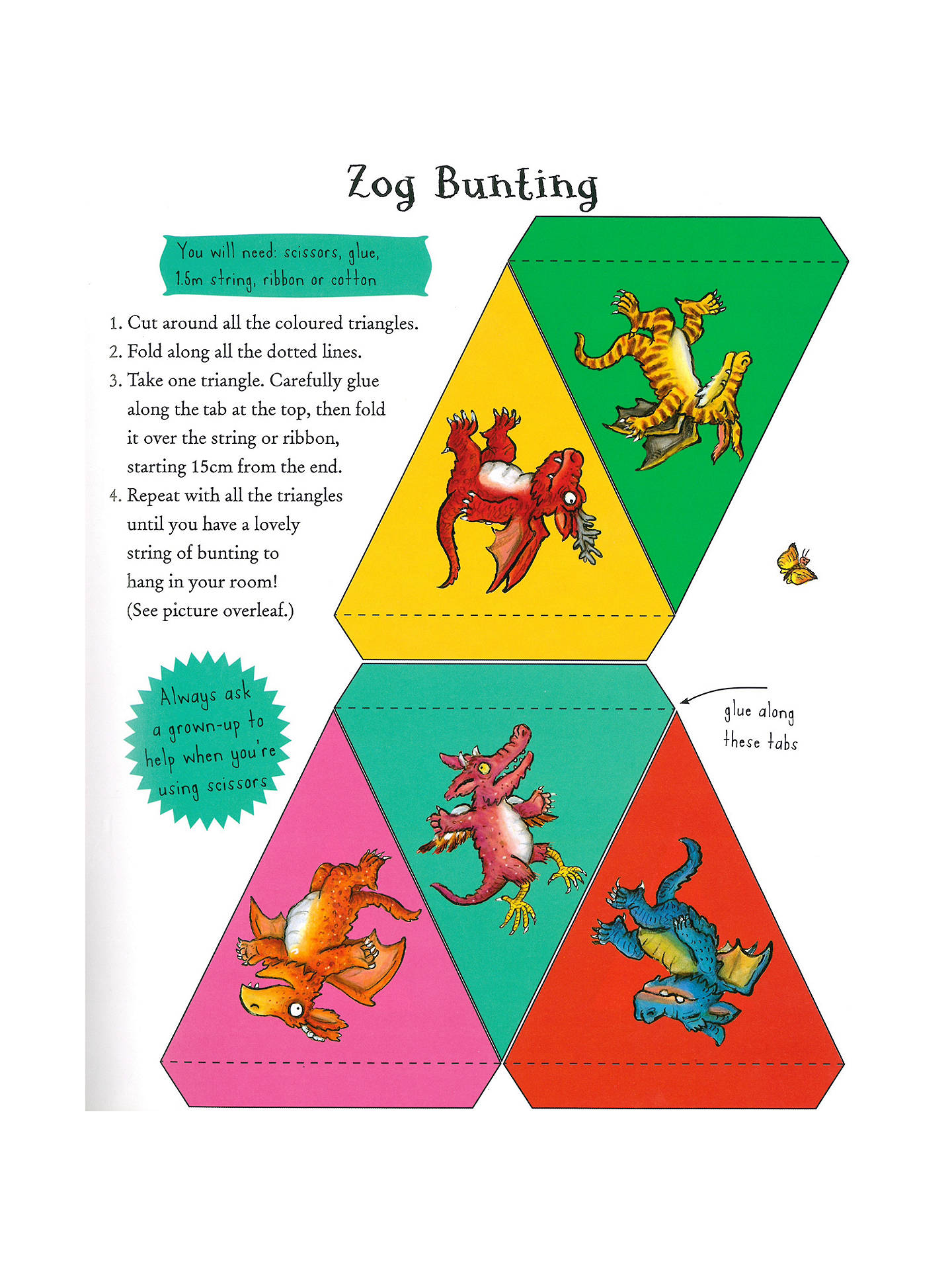 Buy The Zog And The Highway Rat Activity Children's Book, Pack of 2 Online at johnlewis.com