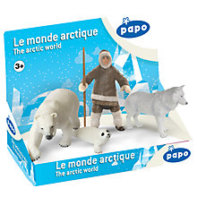 Buy Papo Figurines Display Box: Arctic World Online at johnlewis.com