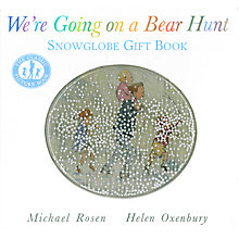 Buy We're Going On A Bear Hunt Snowglobe Gift Book Online at johnlewis.com