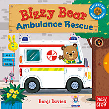 Buy Bizzy Bear Ambulance Rescue Children's Board Book by Benji Davies Online at johnlewis.com