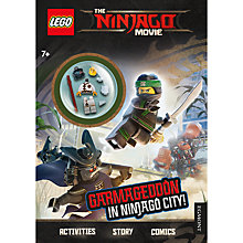 Buy LEGO Ninjago Spot The Samurai-Droid Search-And-Find Book Online at johnlewis.com