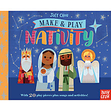 Buy Make & Activity Nativity Children's Book Online at johnlewis.com