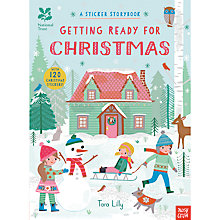 Buy National Trust Getting Ready For Christmas Children's Sticker Book by Tara Lilly Online at johnlewis.com