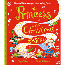Buy Princess And The Christmas Rescue Children's Book by Caryl Hart And Sarah Warburton Online at johnlewis.com