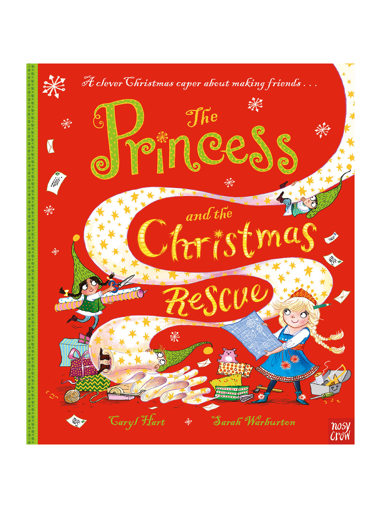 BuyPrincess And The Christmas Rescue Children's Book by Caryl Hart And Sarah Warburton Online at johnlewis.com