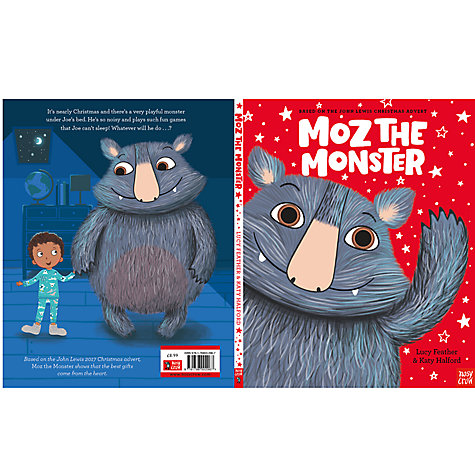Buy Nosy Crow Moz The Monster Christmas Book Online at johnlewis.com