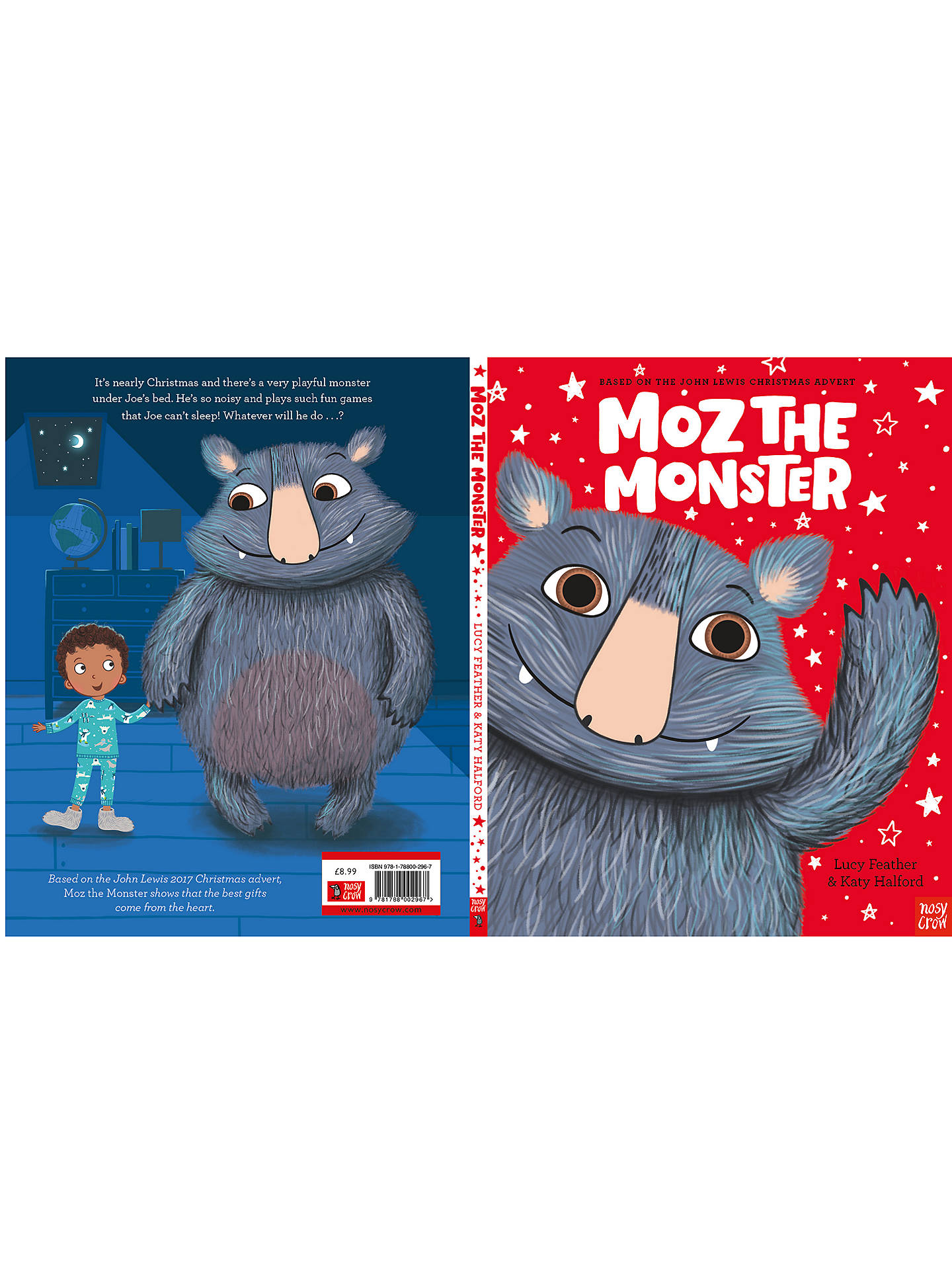 Buy Moz The Monster Christmas Book Online at johnlewis.com