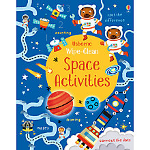 Buy Wipe Clean Space Activities Book Online at johnlewis.com