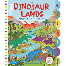 Buy Dinosaur Land Search And Find Book Online at johnlewis.com