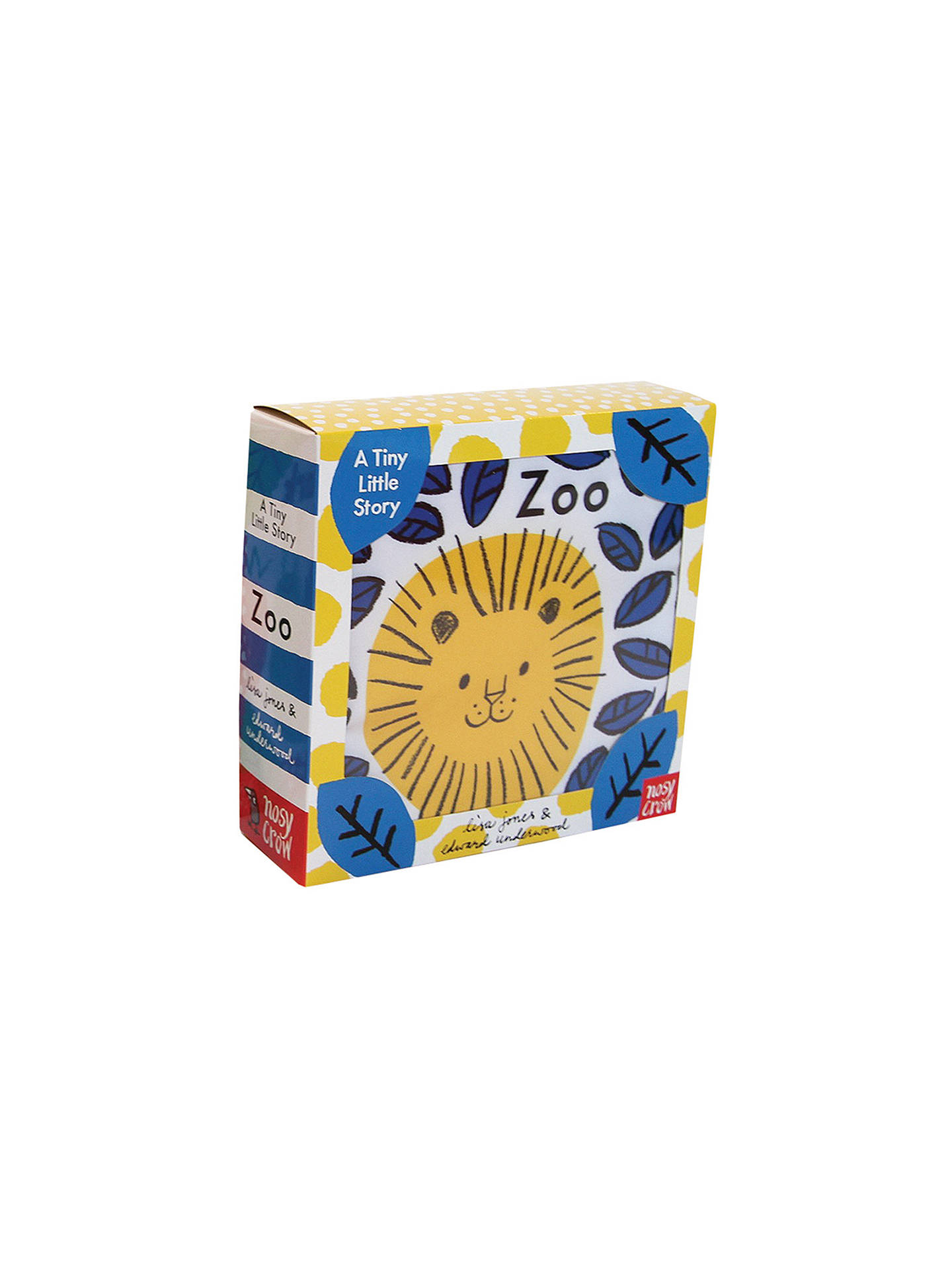 Buy A Tiny Little Story: Zoo Children's Cloth Book Online at johnlewis.com