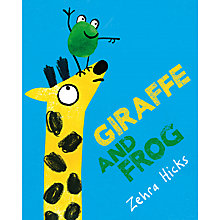 Buy Giraffe & Frog Children's Book Online at johnlewis.com