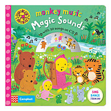 Buy Monkey Music Magic Sounds Book (Including CD) Online at johnlewis.com