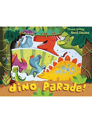 Dino Parade Pull-Out Children's Book