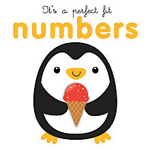 Buy It's a Perfect Fit Numbers Children's Book Online at johnlewis.com