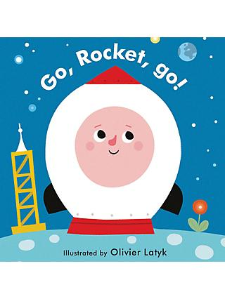 Go Rocket Go Children's Book