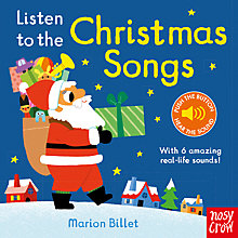 Buy Listen To The Christmas Songs Children's Musical Board Book by Marion Billet Online at johnlewis.com