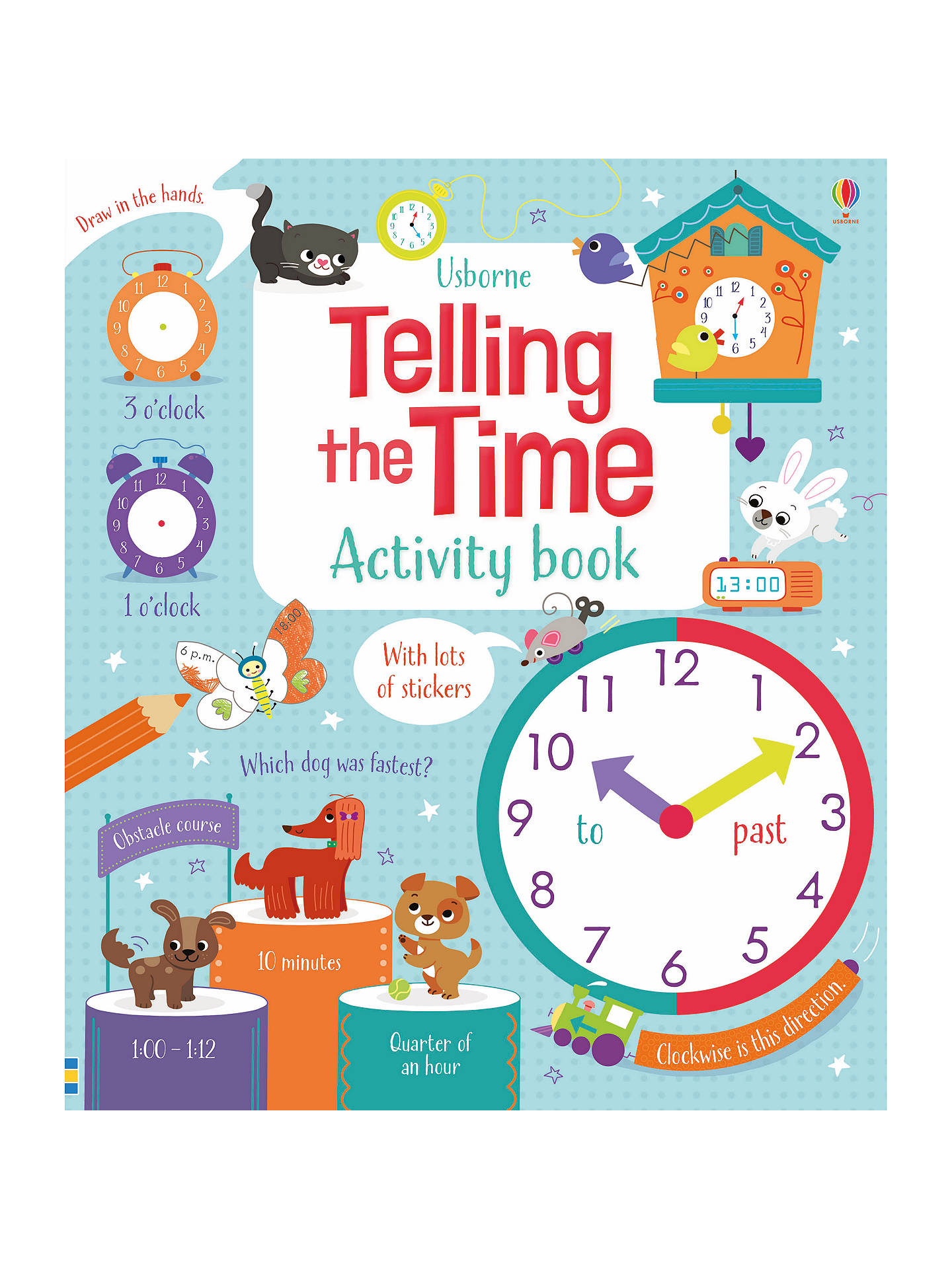 BuyTelling The Time Children's Activity Book Online at johnlewis.com