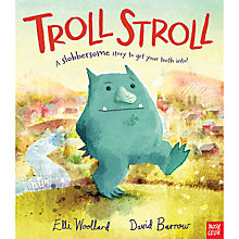 Buy Troll Stroll Children's Book Online at johnlewis.com