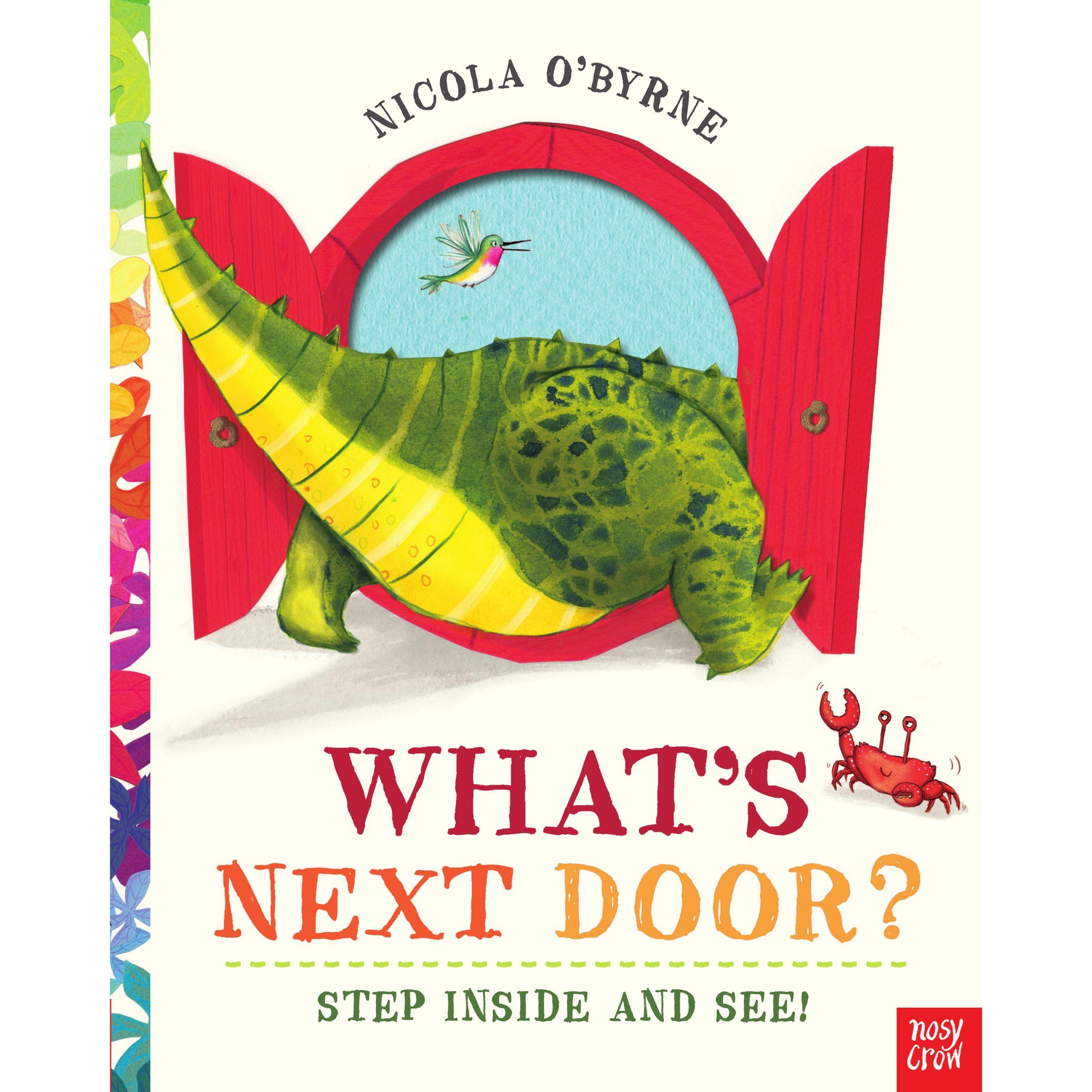Nosy Crow What's Next Door? Children's Book