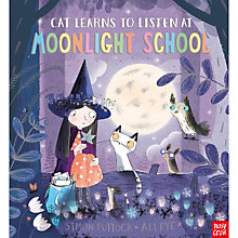 Buy Cat Learns To Listen Children's Book by Simon Puttock And Ali Pye Online at johnlewis.com