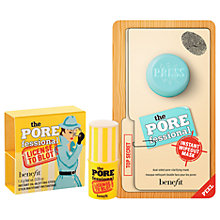 Buy Benefit The POREfessional Instant Wipeout Masks with License To Blot Gift Online at johnlewis.com