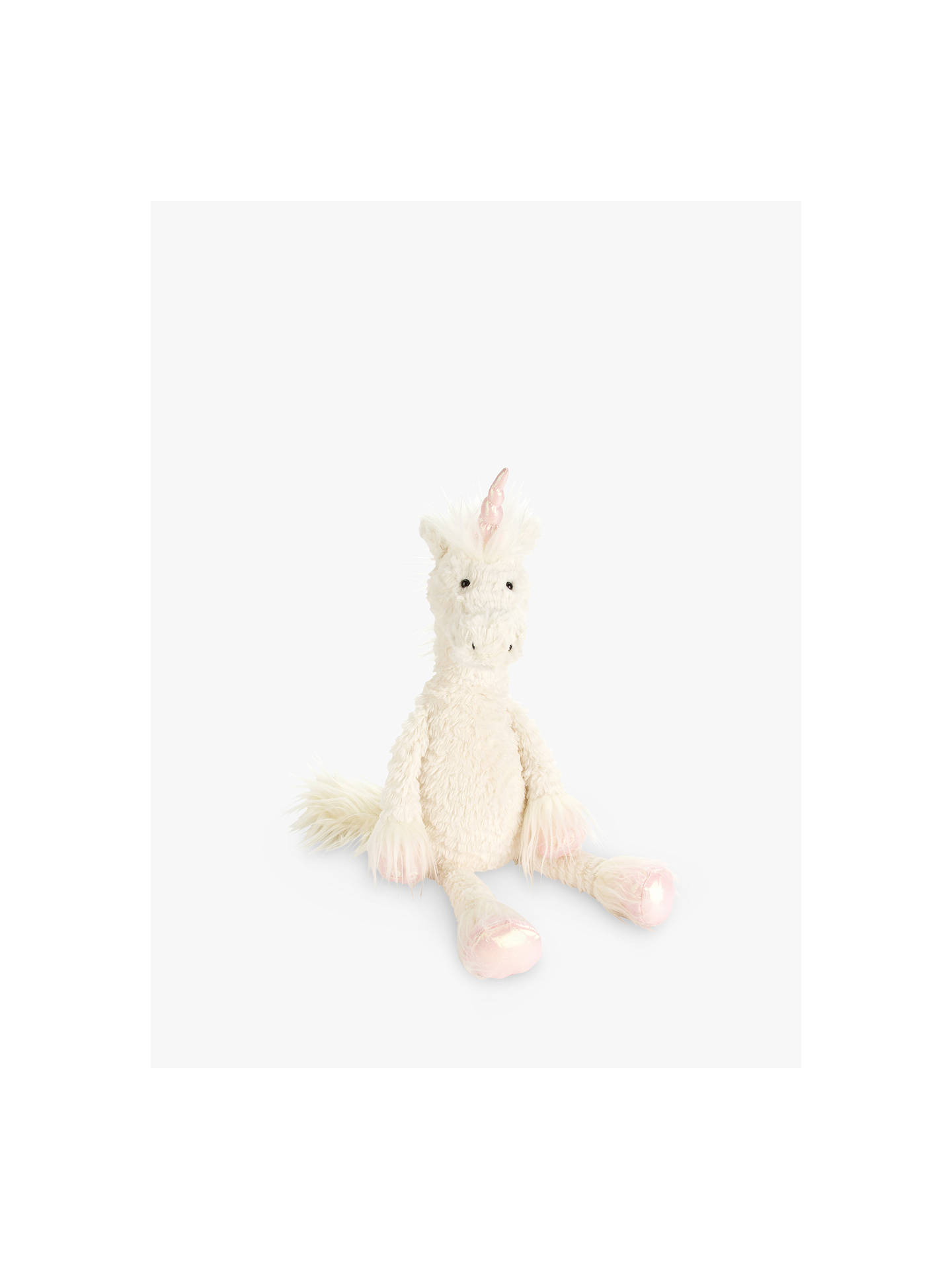 6adc45b0475d Buy Jellycat Dainty Unicorn Soft Toy, Small Online at johnlewis.com