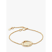 Buy Modern Rarity Hammered Disc Chain Bracelet Online at johnlewis.com