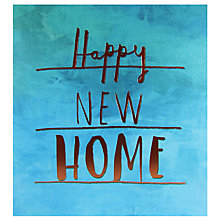 Buy Pigment New Home Greeting Card Online at johnlewis.com