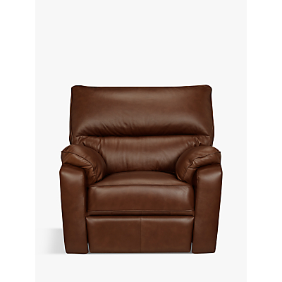 John Lewis Carlisle Power Recliner Leather Armchair