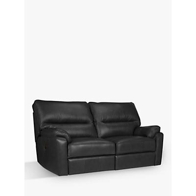 John Lewis Carlisle Medium 2 Seater Power Recliner Leather Sofa