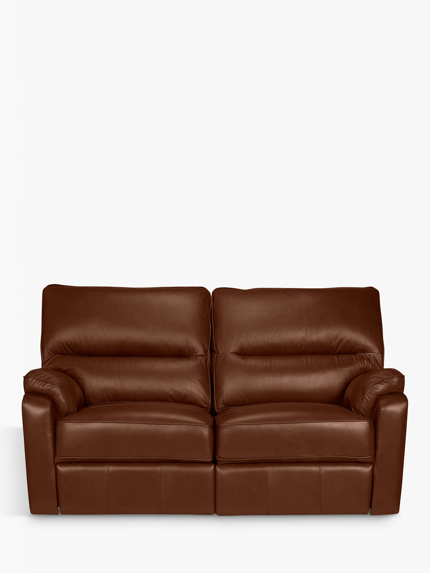 Buyjohn lewis partners carlisle small 2 seater power recliner leather sofa contempo castanga online