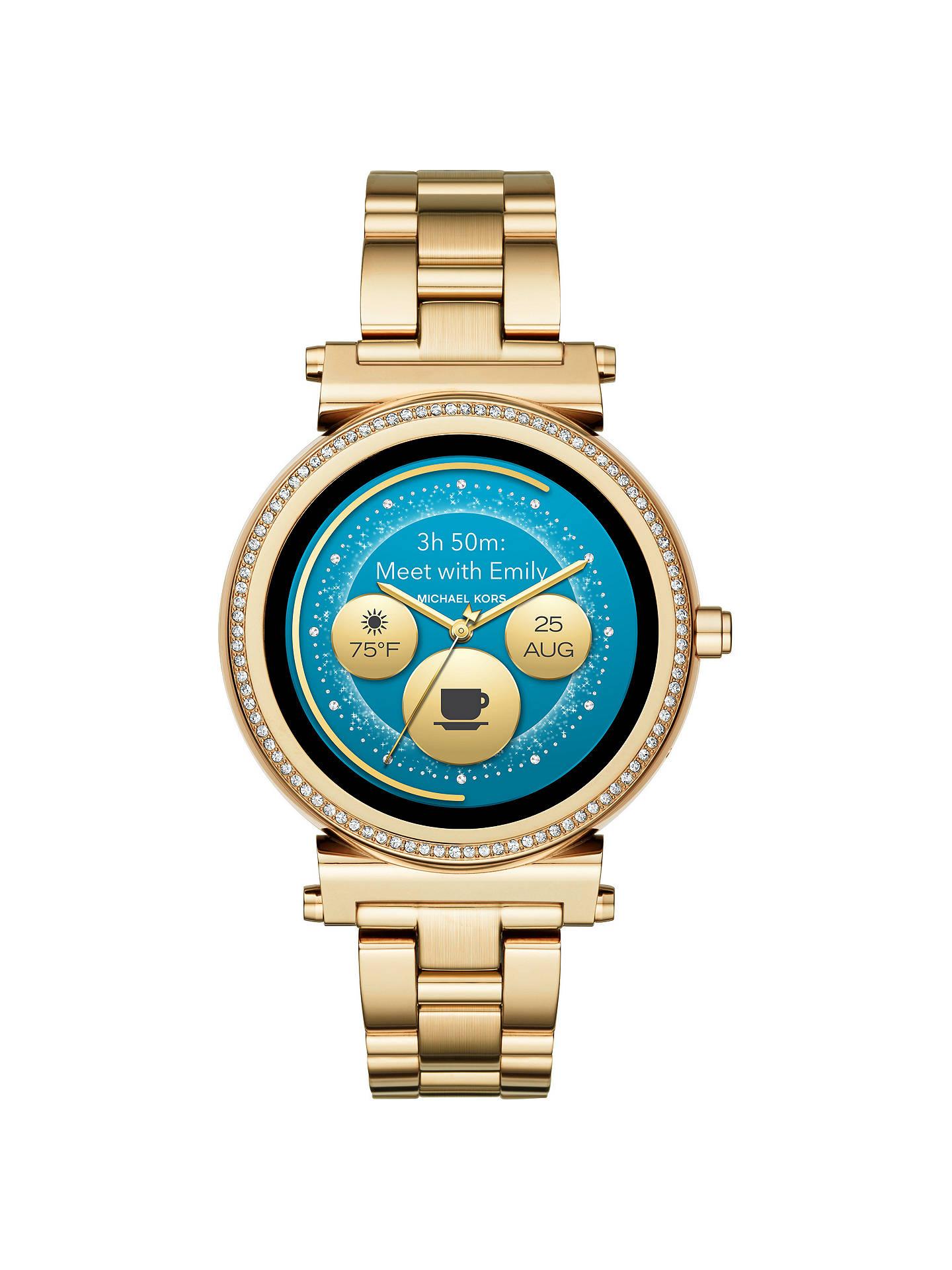 0cfe828ceede ... Buy Michael Kors Access MKT5021 Women s Sofie Touchscreen Smartwatch