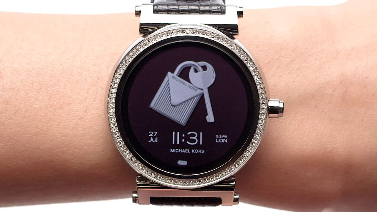 f67c4419c66b Michael Kors Access Women s Sofie Bracelet Strap Touchscreen Smartwatch at  John Lewis   Partners